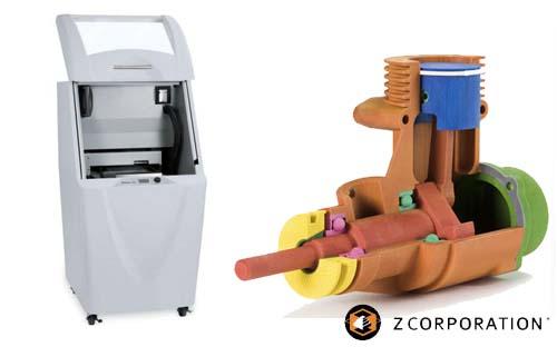 Dịch vụ Tạo mẫu nhanh - in 3D, zprinter-3d-printers-rapid-prototyping tao mau nhanh may in 3d