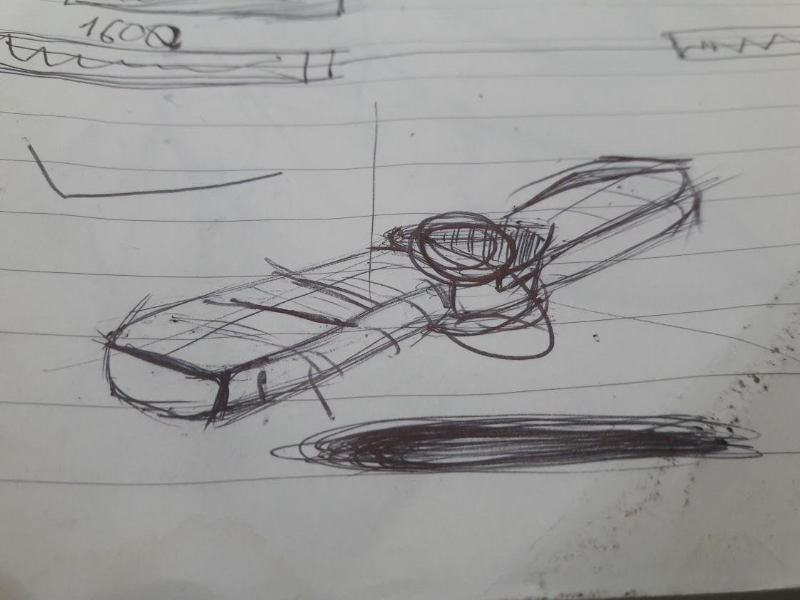 Hand drawing, Hand Sketching, vẽ phac thảo 3D, thiết kế - phát triển mẫu Spinner Charm ONE như thế nào?